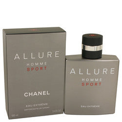 Allure Homme Sport Eau Extreme by Chanel Eau De Parfum Spray 3.4 oz (Men)