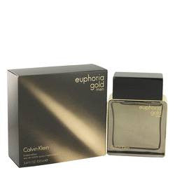 Euphoria Gold Eau De Toilette Spray (Limited Edition) By Calvin Klein - EZGetOne