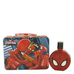 Spiderman Eau De Toilette Spray with Free Lunch Box By Marvel - EZGetOne