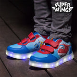 Super Wings LED Trainers - EZGetOne