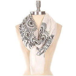 Abstract Printed Scarf - EZGetOne