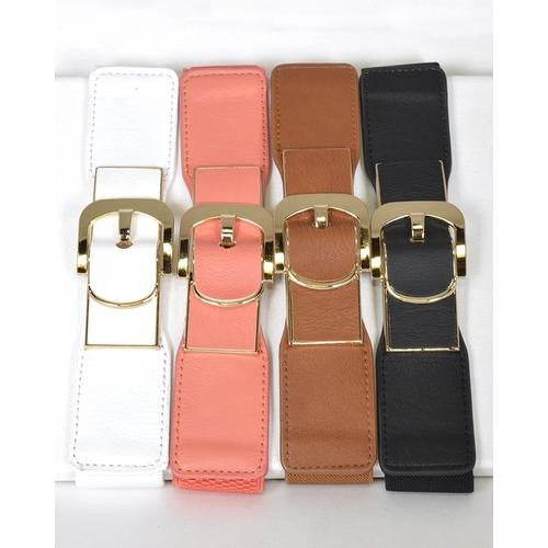 Elasticized Broad Waist Belt - EZGetOne