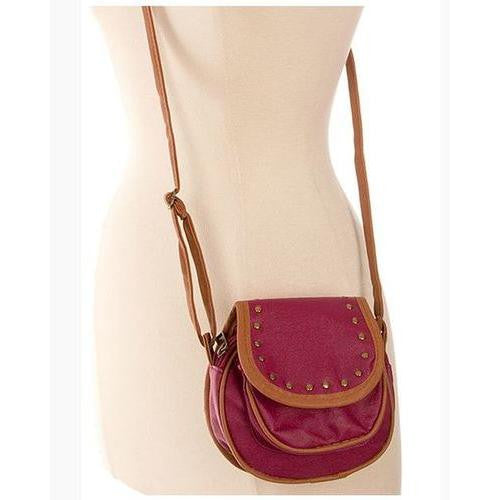 Single Strap Metal Embellished Saddle Strap - EZGetOne