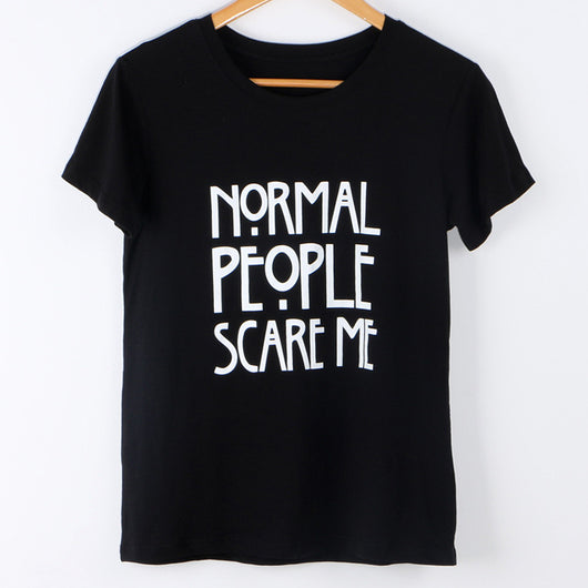 T Shirt Women Tops Punk cute but psycho Letter Print Tee Shirt Femme - EZGetOne
