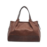 women famous brand bolsos shoulder handbags patchwork casual totes - EZGetOne