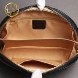 New Luxury Brand Women Clutch Bag  Genuine Leather Embossing Black - EZGetOne