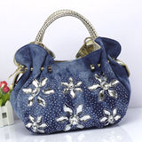 flower dumpling bag ladies small shoulder bag messenger bag one shoulder cross body bag - EZGetOne