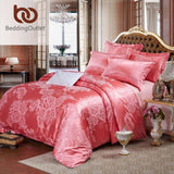 Duvet Cover Tribute Silk Qualified Bed Linen Queen King 4pcs - EZGetOne