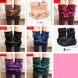 Winter Women Warm Leggings Elastic High Waist Plus Velvet Thick Slim Stretch - EZGetOne