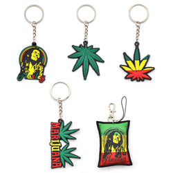 1 piece New Arrival Bob Marley Collection Silicone Key Chain - EZGetOne