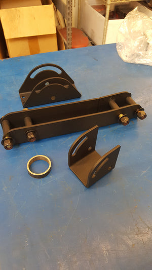 Dodge Ram Universal  Front Seat mount kit for AR Rifle carrier