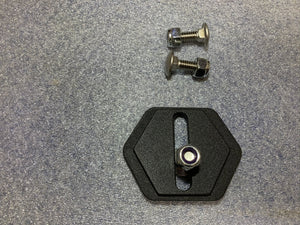 Adapt-a-panel Vertical Slot Grid Insert mount kit