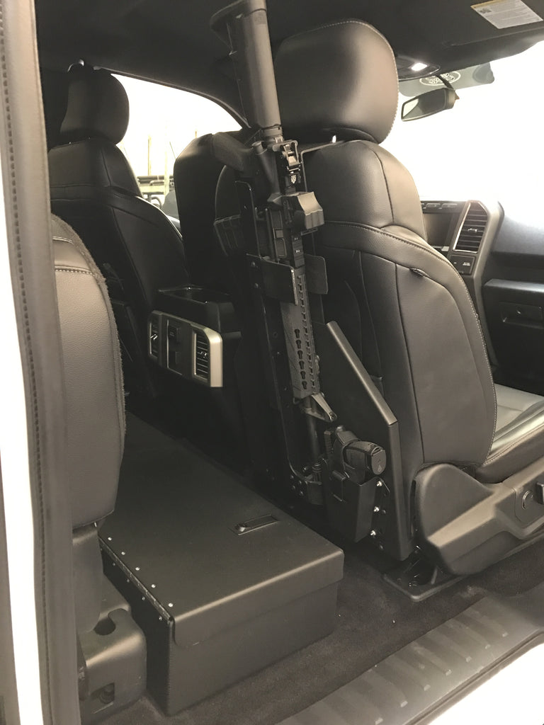 Ford Truck Back Of Seat Mount Kit For Ar Rifle Mount