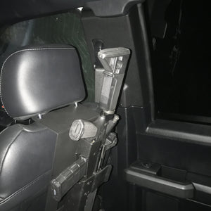 Chevy Truck Back of Seat Mount Kit for AR Rifle mount