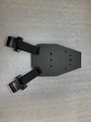 Universal under steering column pistol carrier