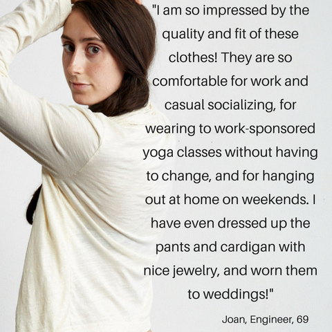 PonyBabe organic loungewear made in the USA reviews and testimonials