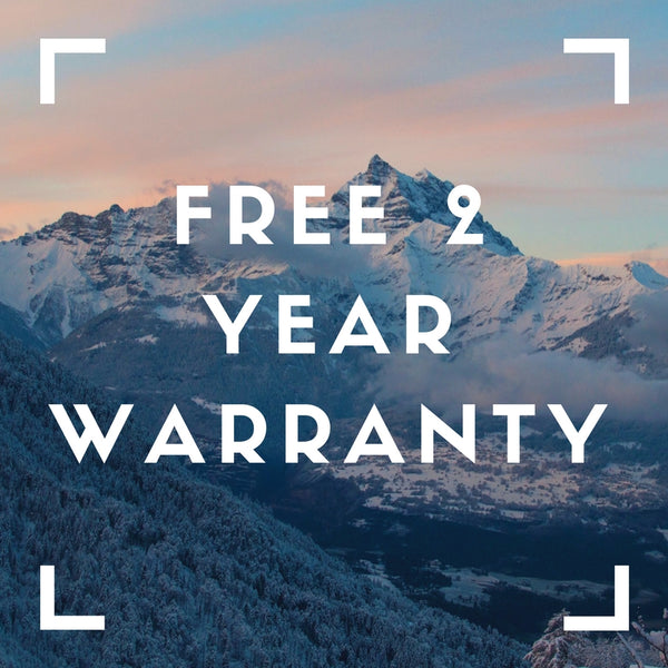 noome® FREE 2 YEAR WARRANTY