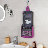 Large Hanging Purple Wash Bag