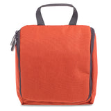 Large Hanging Orange Wash Bag