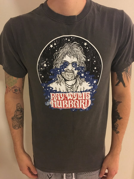 Men's Cosmic Ray Charcoal Gray T-shirt