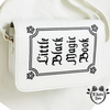 sac gothique magic book blanc