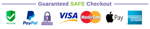 Guaranteed safe checkout icons