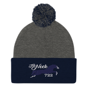Colts Neck, NJ Pom-Pom Beanie