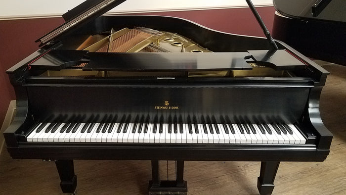 "Steinway Model A Grand Piano (6'2"") - [1913] Partially Restored"
