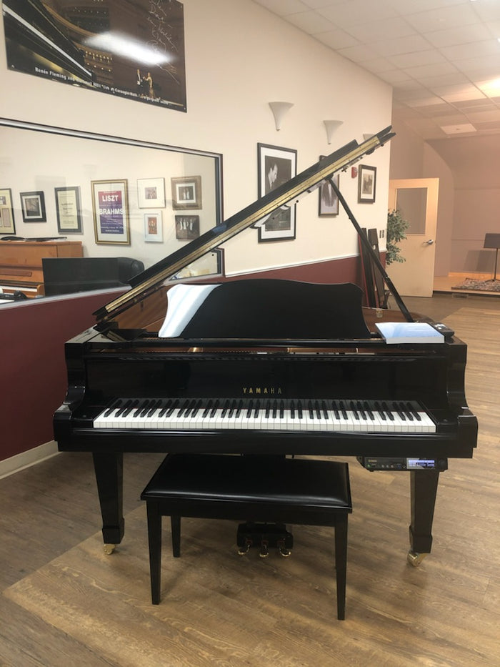 "Yamaha DC7 Semi-Concert Grand Piano (7'6"") with Disklavier System - [1999] Preowned"