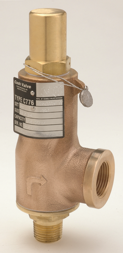 Cash Valve Type C-776 Cryogenic Safety Valves