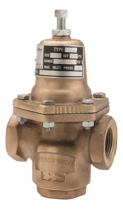 Cash Valve Type E-55 Series Industrial Pressure Regulators