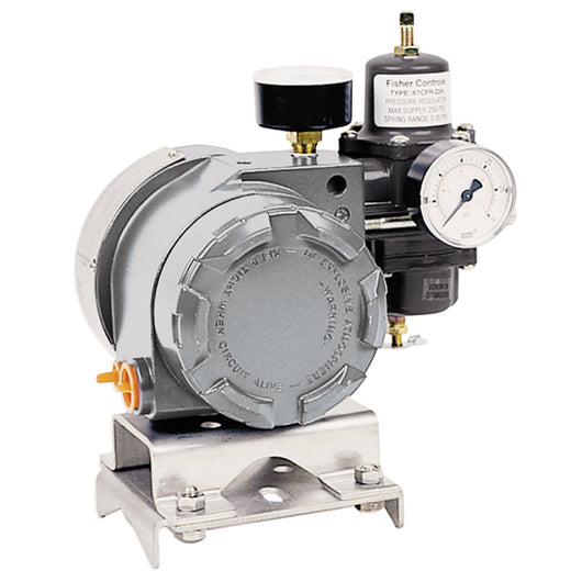 Remanufactured Fisher® 846 I to P Transducer Completely remanufactured unit. Full 2-year service warranty from date of installation. - 846-DS1J1/MTG3-846-B4/F2E5 - Buy Kunkle valves online