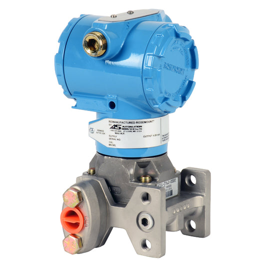 Remanufactured Rosemount¨ 3051CG Coplanar Gage Pressure Transmitter - Pressure range: -2000 to 2000 psi Completely remanufactured unit. Full 2-year service warranty from date of installation. - 3051CG5A22A1AE5 - Buy Kunkle valves online