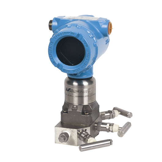 Remanufactured Rosemount¨ 3051S Series Coplanar Differential Pressure Transmitter  Completely remanufactured unit. Full 2-year service warranty from date of installation. - 3051S2CD1A2E12A1AE5T1