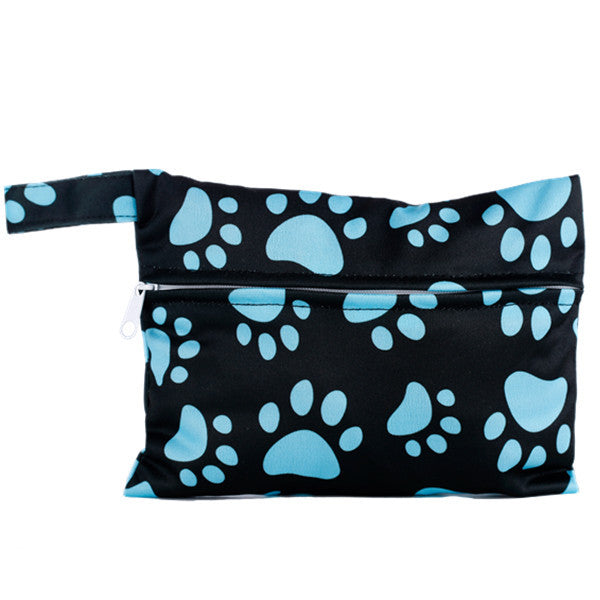 J & B Stay Dry Mini wet bag - Mystery Paws