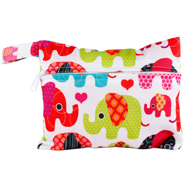 J & B Stay Dry Mini wet bag - Elephant Parade