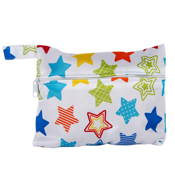 J & B Stay Dry Mini wet bag - Rainbow Stars
