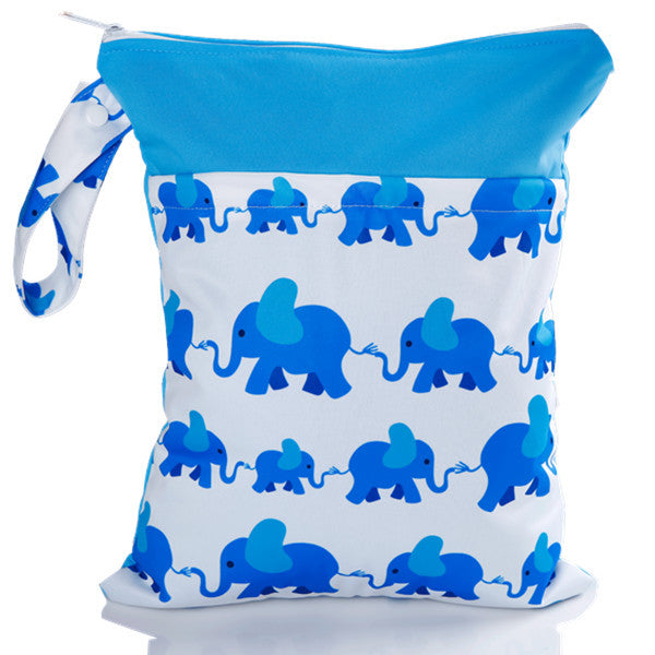 J & B Stay Dry Midi Plus wet bag - Elephant Marathon