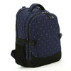 J & B Stay Moving Classic diaper backpack - Blue Velvet