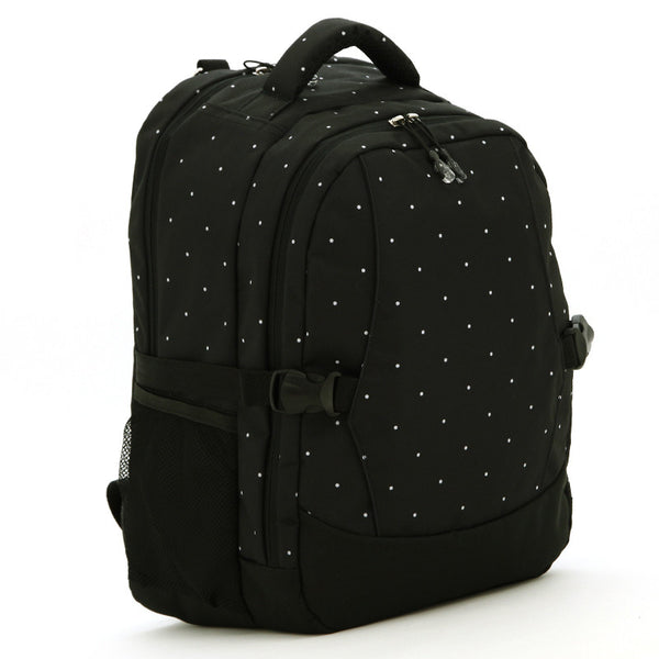 J & B Stay Moving Classic diaper backpack - Black Velvet