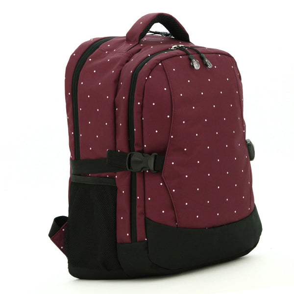J & B Stay Moving Classic diaper backpack - Poached Pear