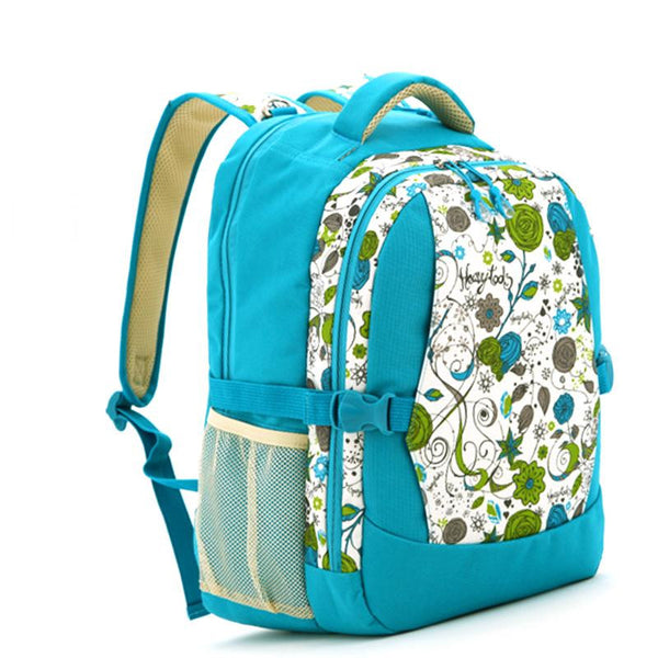J & B Stay Moving Classic diaper backpack - Flower Macaroon