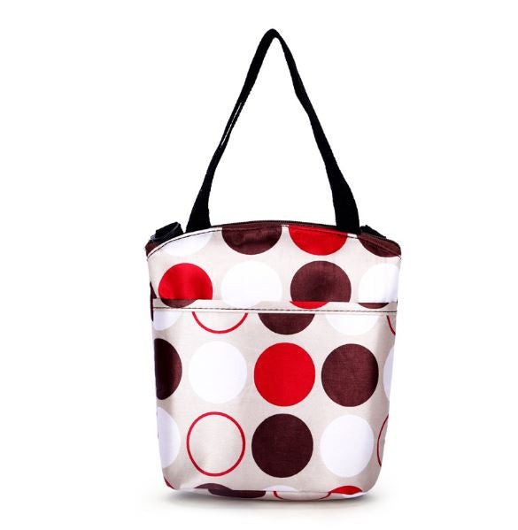 J & B Stay Cool cooler / lunch bag - Glass Marbles