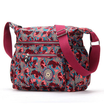 L & L Bags Everyday Messenger Magic Carpet