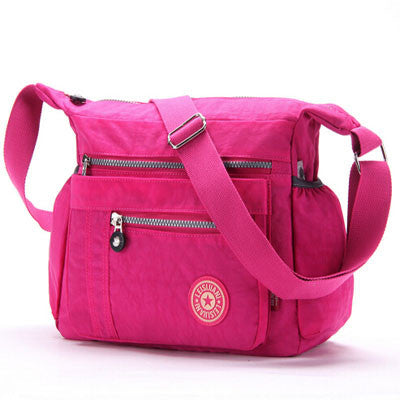 L & L Bags Everyday Messenger Grape Juice