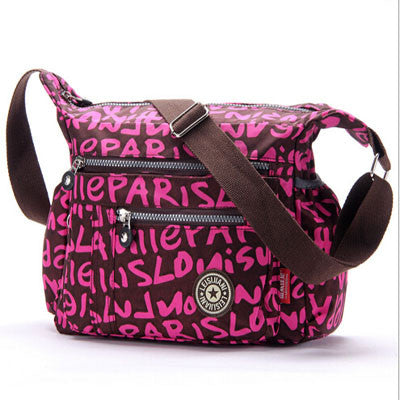 L & L Bags Everyday Messenger Pink Wisdom