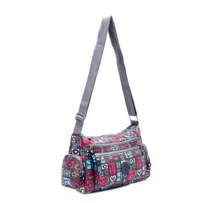L & L Bags Hobo Classic handbag / diaper bag Pretty Love