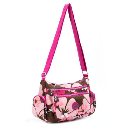 L & L Bags Hobo Classic handbag / diaper bag Blooming Pink