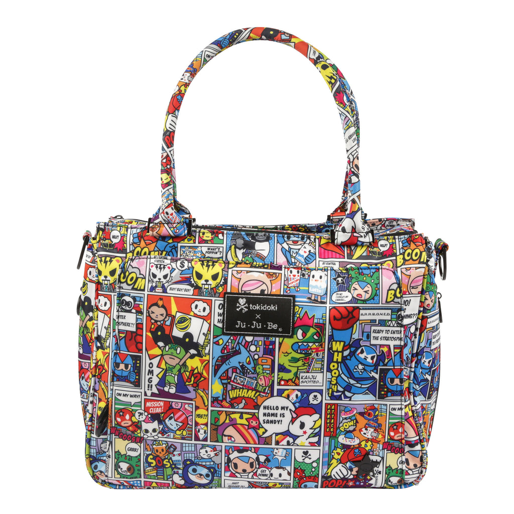 Ju-Ju-Be x Tokidoki Be Classy changing bag in Super Toki