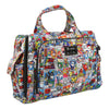 Ju-Ju-Be x Tokidoki Be Prepared diaper bag in Super Toki
